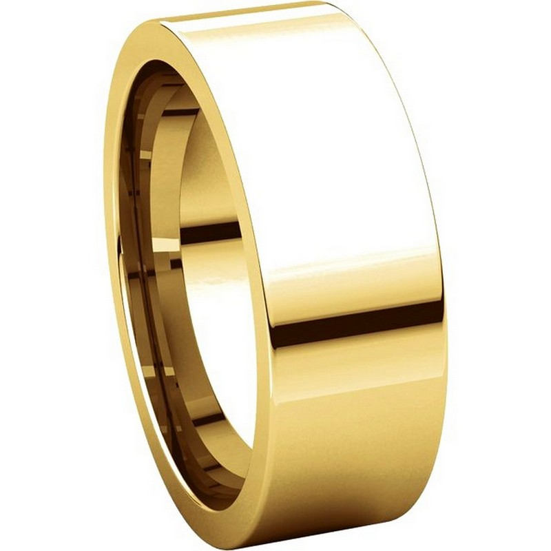 Item # 114771 View 5 - 14K Yellow Gold Wedding Band