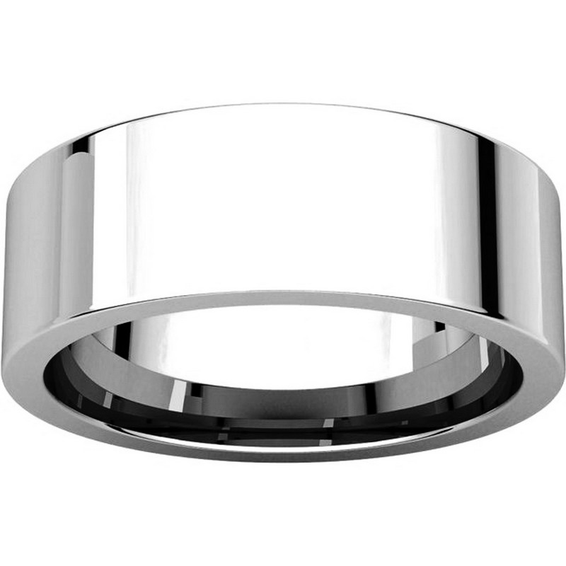 Item # 114771WE View 3 - Flat Comfort Fit Plain Wedding Band