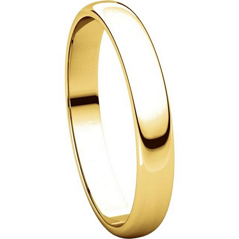 Item # 114851 View 5 - 14K Gold 3mm Wedding Ring