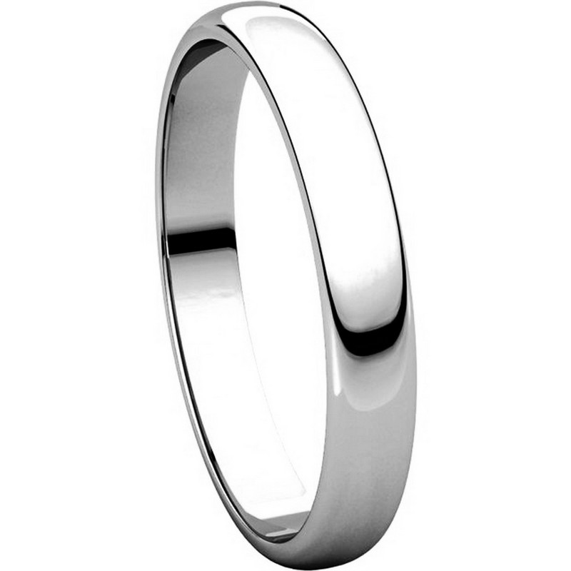 Item # 114851PP View 5 - Platinum 3.0mm Wide His and Hers Ring