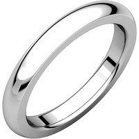 Item # 115031PP - Platinum 4.0mm Comfort Fit Wedding Band