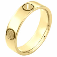 Item # 115191E - 18 kt Gold Wedding Ring