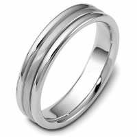 Gold Comfort Fit Wedding Band