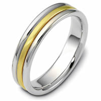 Item # 115341E - 18K Comfort Fit Wedding Band