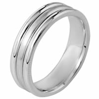Item # 115351PP - Platinum Comfort Fit Wedding Band