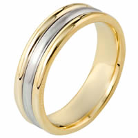 14 K Gold Comfort Fit Wedding Band