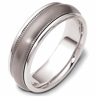 Item # 115401TG - Titanium-14 K Gold Comfort Fit Wedding Band