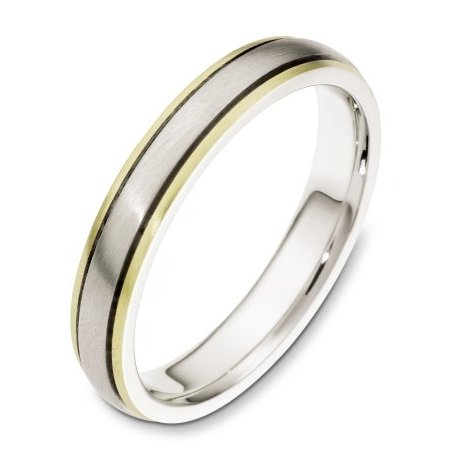 18K Gold Comfort Fit Wedding Band