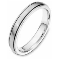 Item # 115411PP - Platinum hand made Wedding Band