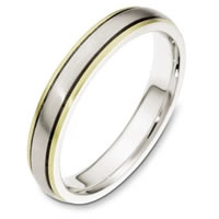 Item # 115411E - 18K Gold Comfort Fit Wedding Band