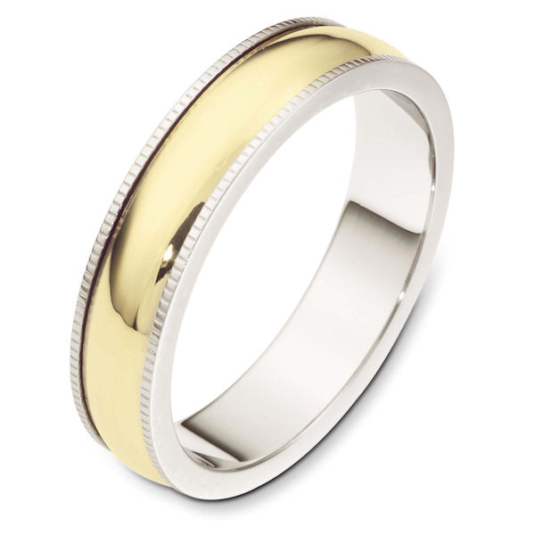 14K Gold, Comfort Fit, 5.0mm Wide Wedding Band