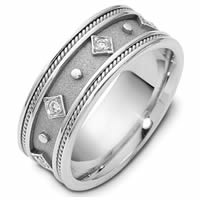 Item # 115891W - The Crown Ring 14 KWedding Band