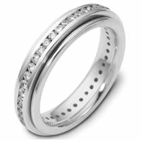 Item # 116061W - 14K White Gold Diamond Eternity Ring
