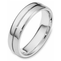 Item # 116441PP - Platinum, Comfort Fit, 6.0mm Wide Wedding Band