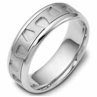 Item # 116461WE - Hand Crafted Wedding Ring