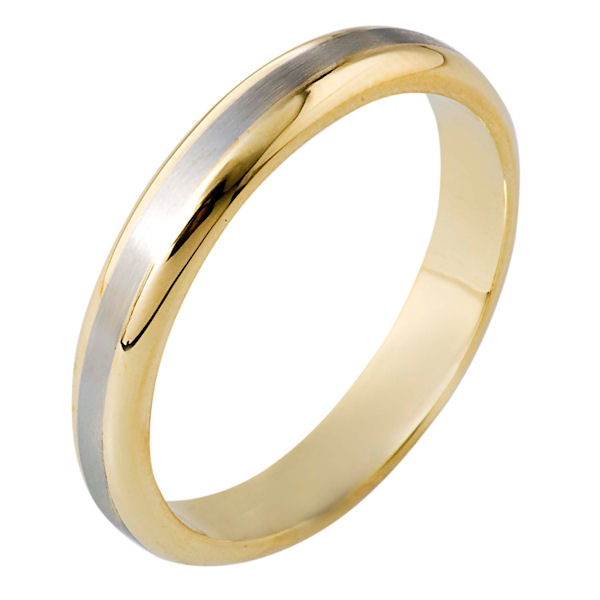 Item # 116491E - 18 kt Gold Wedding Band  View-1