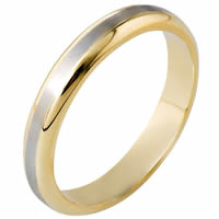 Item # 116491E - 18 kt Gold Wedding Band