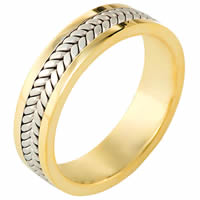 Item # 116521E - Gold, Comfort Fit, 5.5mm Wide Wedding Band
