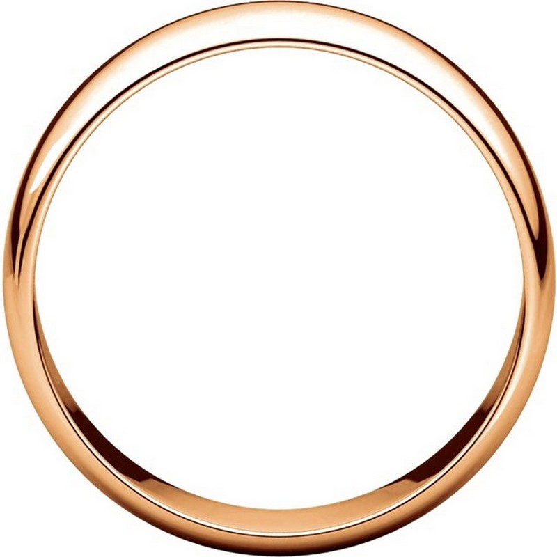 Item # 116821R View 2 - 14K Rose Gold 6mm Wide Wedding Ring