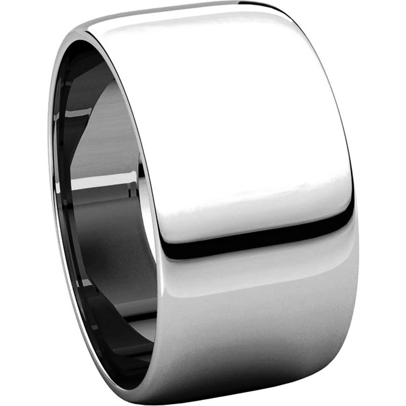 Item # 11683110PP - Platinum 10mm Wide  Wedding Band View-5