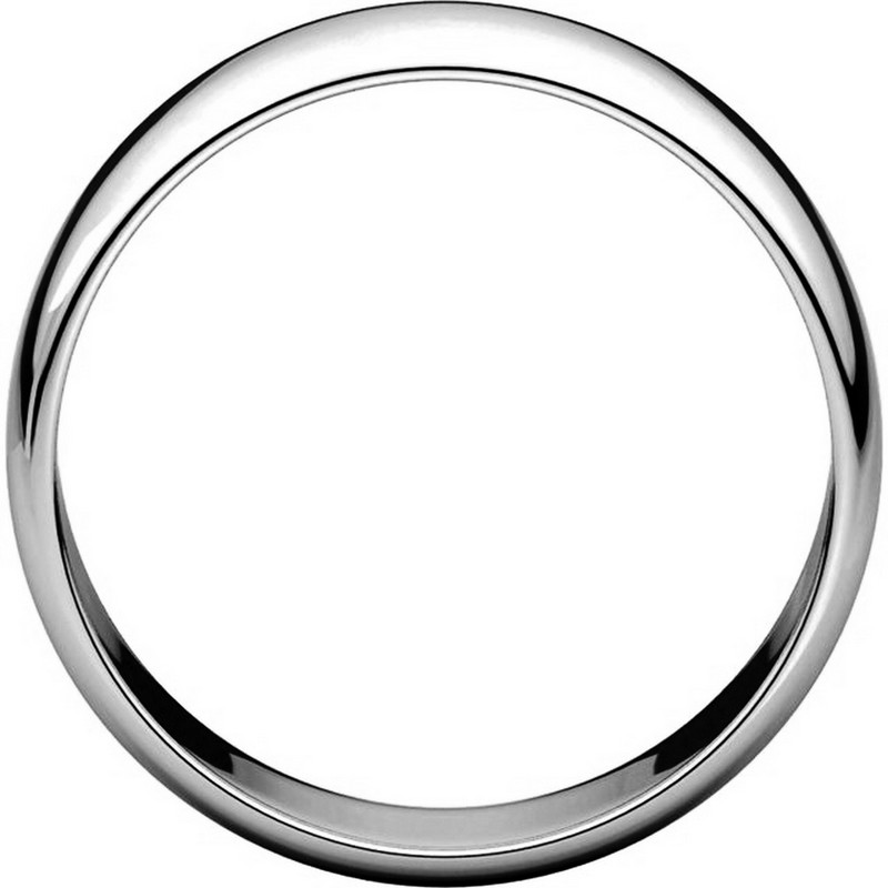 Item # 116831PP - Platinum Plain 7mm Wedding Ring View-2