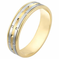 18K Gold, Comfort Fit Wedding Band