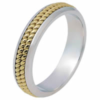Item # 117051 - Gold, Comfort Fit, 5.0mm Wide Wedding Band