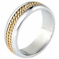 Item # 117061 - Gold, Comfort Fit, 7.0mm Wide Wedding Band