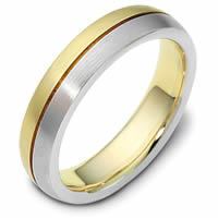 Gold Wedding Band Together Forever