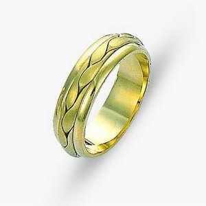 Item # 117131 - 14 kt Hand Made Wedding Band View-1