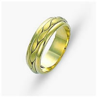 Item # 117131 - 14 kt Hand Made Wedding Band