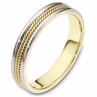 Comfort Fit, 4.0mm Wide Wedding Band