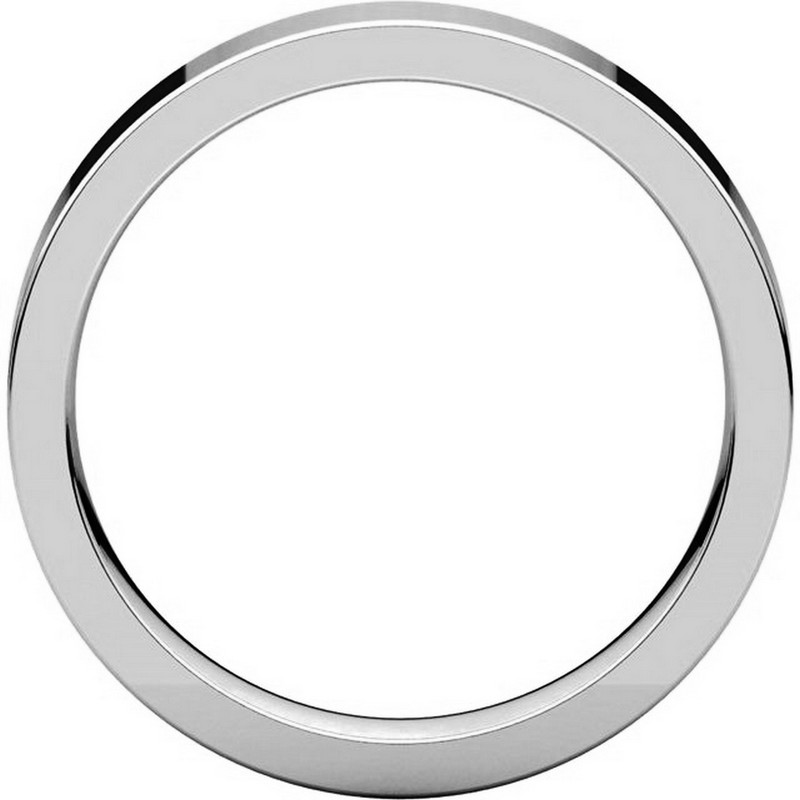 Item # 117211PP View 2 - Plain 4.0 mm Wedding Ring in Platinum