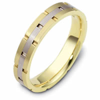 Item # 117241E - 18 kt Gold Wedding Band