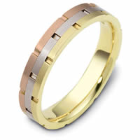 Item # 117251E - 18kt Gold Wedding Band