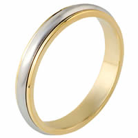 Item # 117291E - 18K Gold, Comfort Fit, 4.0mm Wide Wedding Band