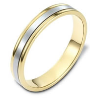Item # 117321E - 18K Gold, Comfort Fit, 4.0mm Wide Wedding Band