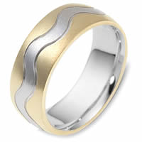 Item # 117811E - 18 kt Gold Wedding Band