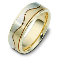 Item # 117951E - 18 kt Gold Wedding Ring