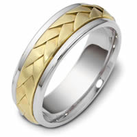 Item # 118081 - 14 K Handcrafted Wedding Band
