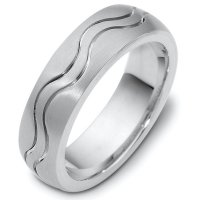 Item # 118401AG - Sterling Silver Wedding Band