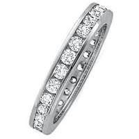 Platinum Diamond Eternity Ring (Over 1.00ct. tw.)