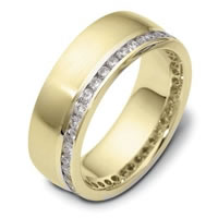 Item # 121941A - 14K Gold Diamond Eternity Ring