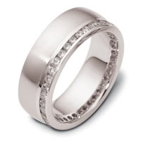 Item # 121941APP - Platinum Diamond Eternity Ring