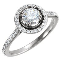 Item # 127636PP - Platinum Engagement Ring