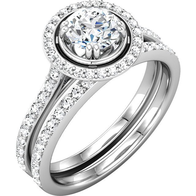 Item # 127636WE View 2 - Engagement Ring