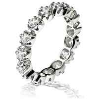 Item # 13804PD - Palladium Diamond Eternity Ring