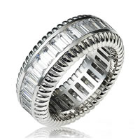 Item # 13836PD - Palladium Diamond Eternity Band