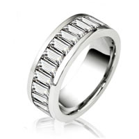 Item # 14774PD - Palladium Diamond Eternity Band