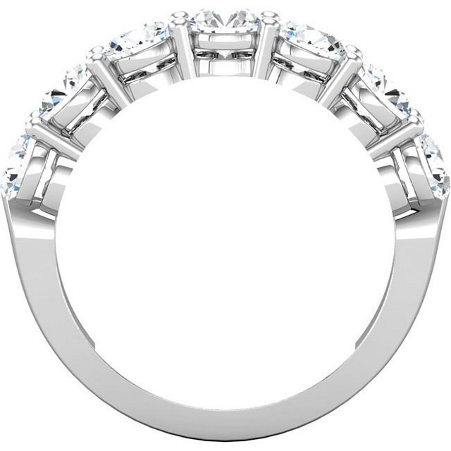 Item # 17862PP View 3 - Platinum Anniversary Ring
